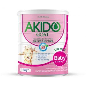 Sữa Akido Goat Baby 0-12 tháng dành cho trẻ sinh non thiếu tháng